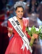 Wohooo!! Miss USA became Miss Universe!!