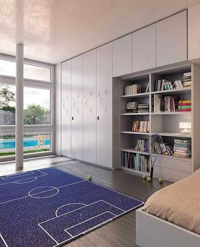 PLAY UP, the teenager room by MAZZALI. La cameretta.