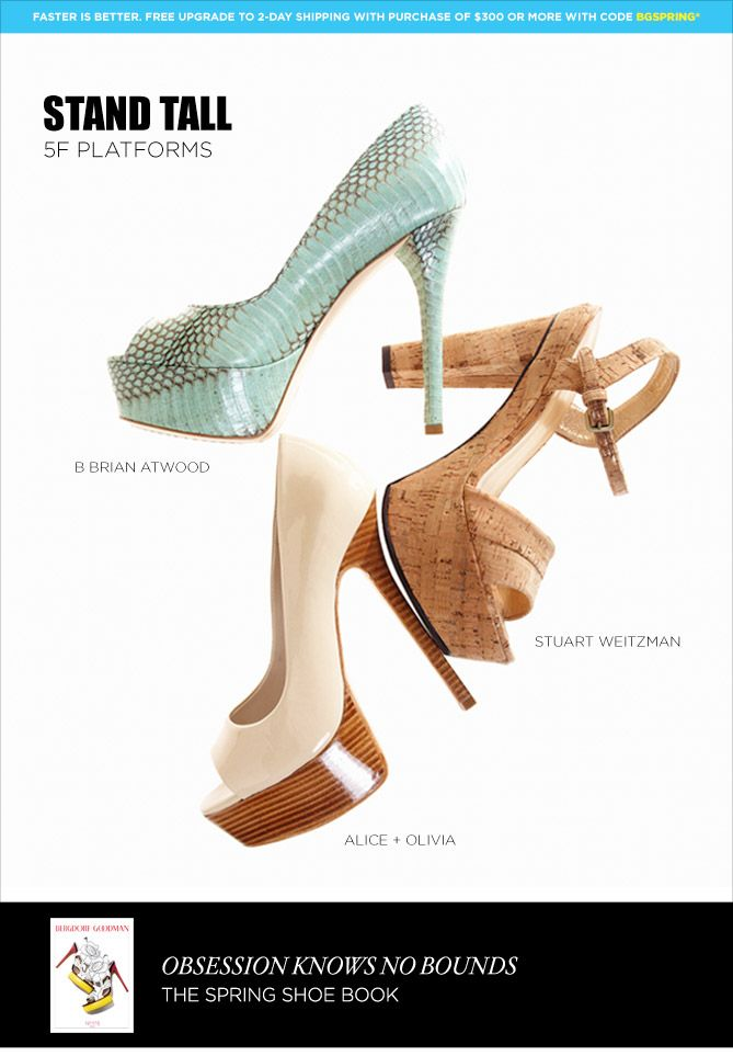 High kicks on 5F: B Brian Atwood, Stuart Weitzman & Alice + Olivia