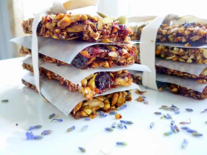 Apricot and Plum Breakfast Biscotti with Lavender and Cardamom...some ...