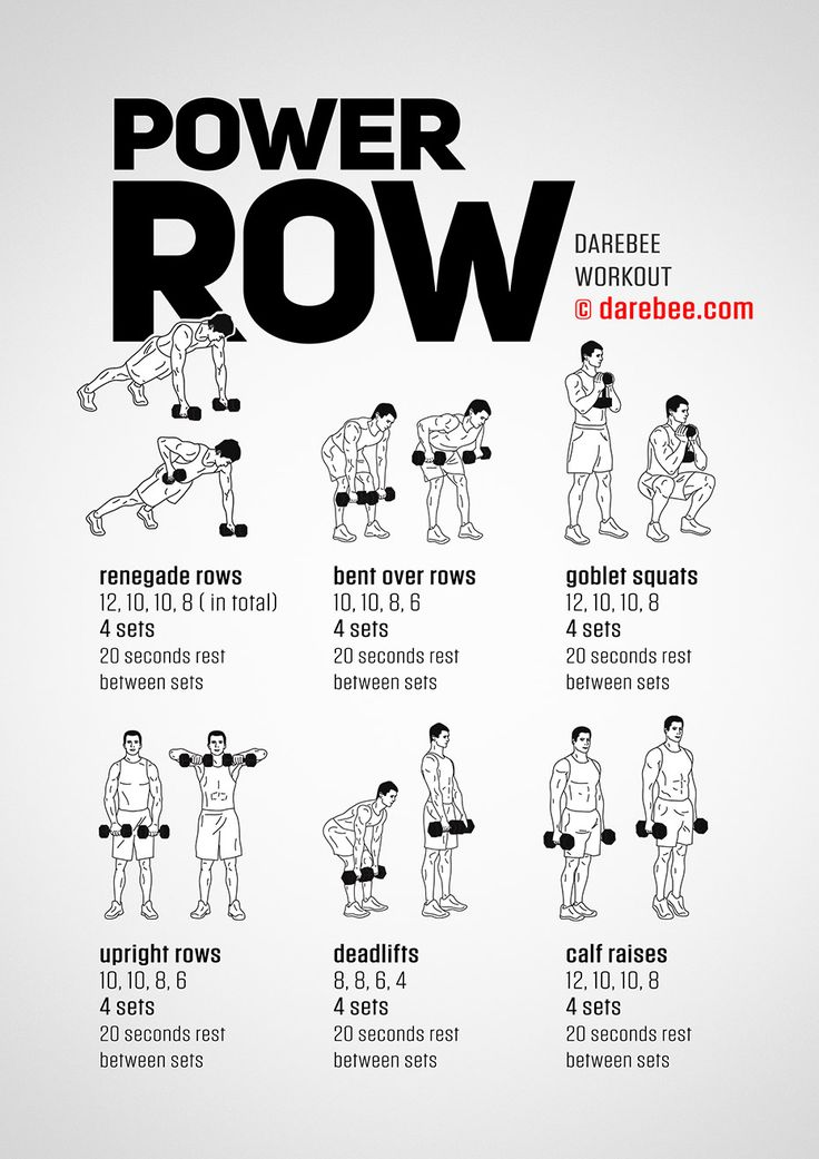Power Row Workout