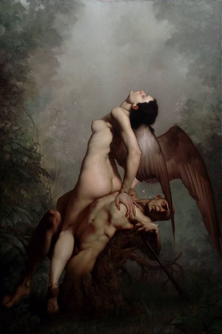 Anima mundi - Roberto Ferri | Roberto Ferri's Surreal & Hyper-realistic Baroque Paintings ...