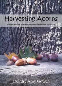 Harvesting Acorns by Deirdré Amy Gower ~ available on Amazon in both ebook and print editions.