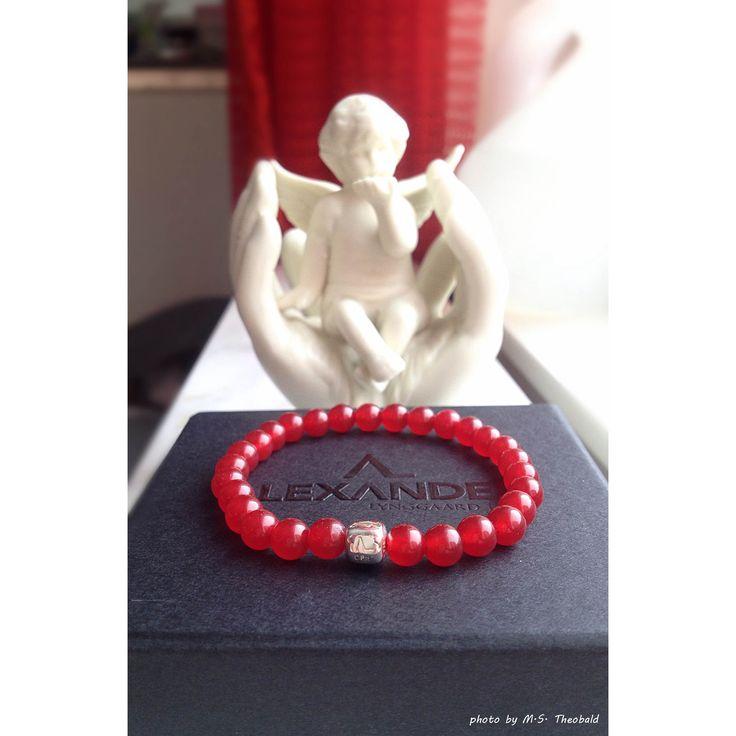 ColorUp Red Jade bracelet by Alexander Lynggaard CPH. Photo by M.S. Theobald.