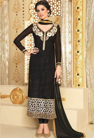 Black Net Designer Suit..@ fashionsbyindia.com #designs #indian #womens #style #cloths #stylish #casual #fashionsbyindia #punjabi #suits #wedding #chic #elegance #beauty #outfits #fantasy #embroidered #dress #PakistaniFashion #Fashion #Longsuit #FloralEmbroidery #Fashionista #Fashion2015 #IndianWear #WeddingWear #Bridesmaid #BridalWear #PartyWear #Occasion #OnlineShopping #salwar #kameez