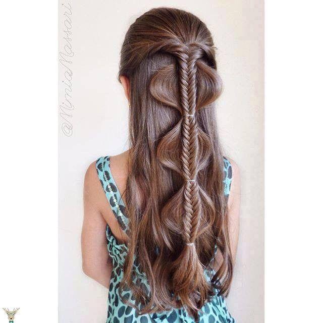 Pleasing 1000 Ideas About Little Girl Braids On Pinterest Girls Braids Hairstyles For Women Draintrainus