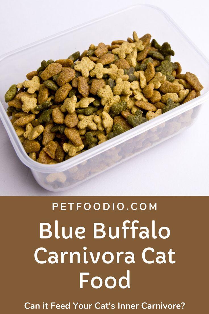 blue buffalo carnivora cat food reviews