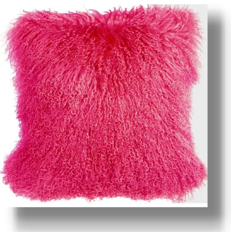 Pink Sofa Pillows And Bed As Girly Designs Ideas: Unique Hot Pink Fuzzy Throw  Pink