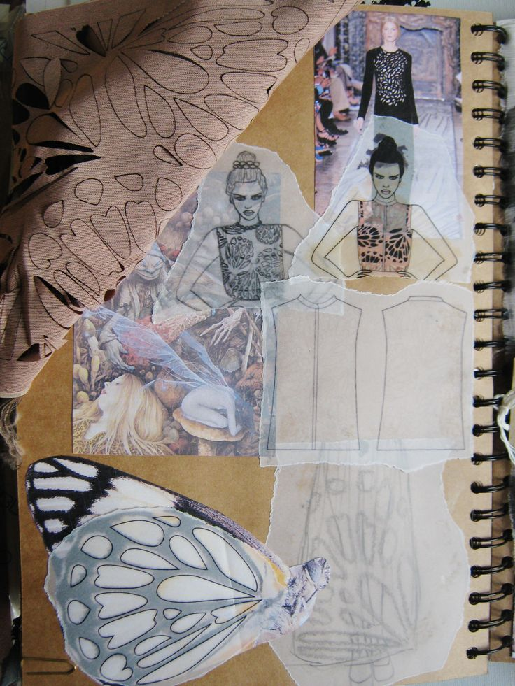 Key Inspirational Sketchbook Pages.