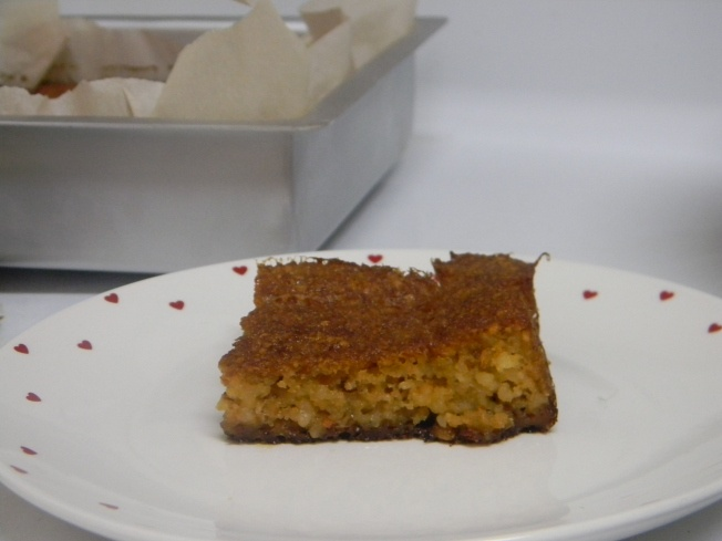 grain-free almond olive oil cake  - perfect for Hanukkah!