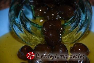 Sweet olive  Γλυκό κουταλιού ελιά
