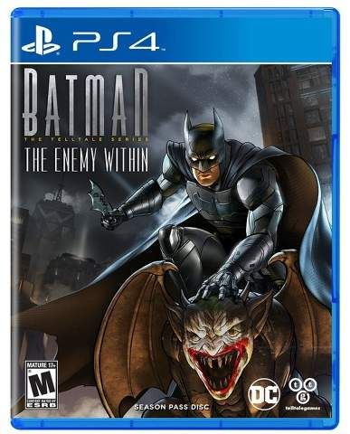 Warner Brothers Batman: The Enemy Within - The Telltale Series Season Pass Disc - PlayStation 4  #ad #ps4 #batman