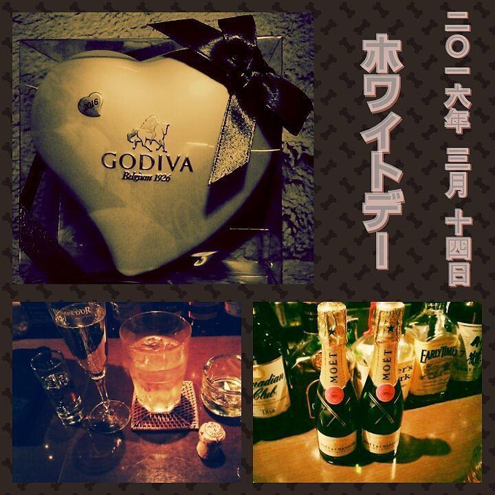 #ホワイトデー #チョコ #チョコレート #ゴディバ #バレンタイン #バレンタインデー #モエ #シャンパン #モエシャン #バー #夜 #酒 #お酒  #whiteday #chocolate #chocolatelover #choco #godiva #valentine #valentineday #moet #moetchandon #bar #night #nightout #alcohol #화이트데이 #발렌타인데이 #초콜릿 #샴페인 by ornmrno