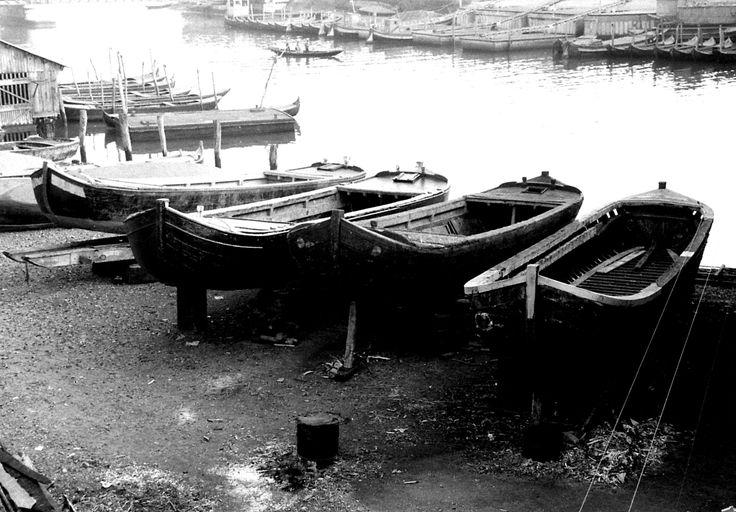 Vecchie barche. -