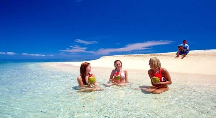 South Sea Island Day Cruise With Unlimited Drinks & Buffet Lunch Included For the greatest fun under the sun you can`t beat a day at South Sea Island, the closest day trip island.