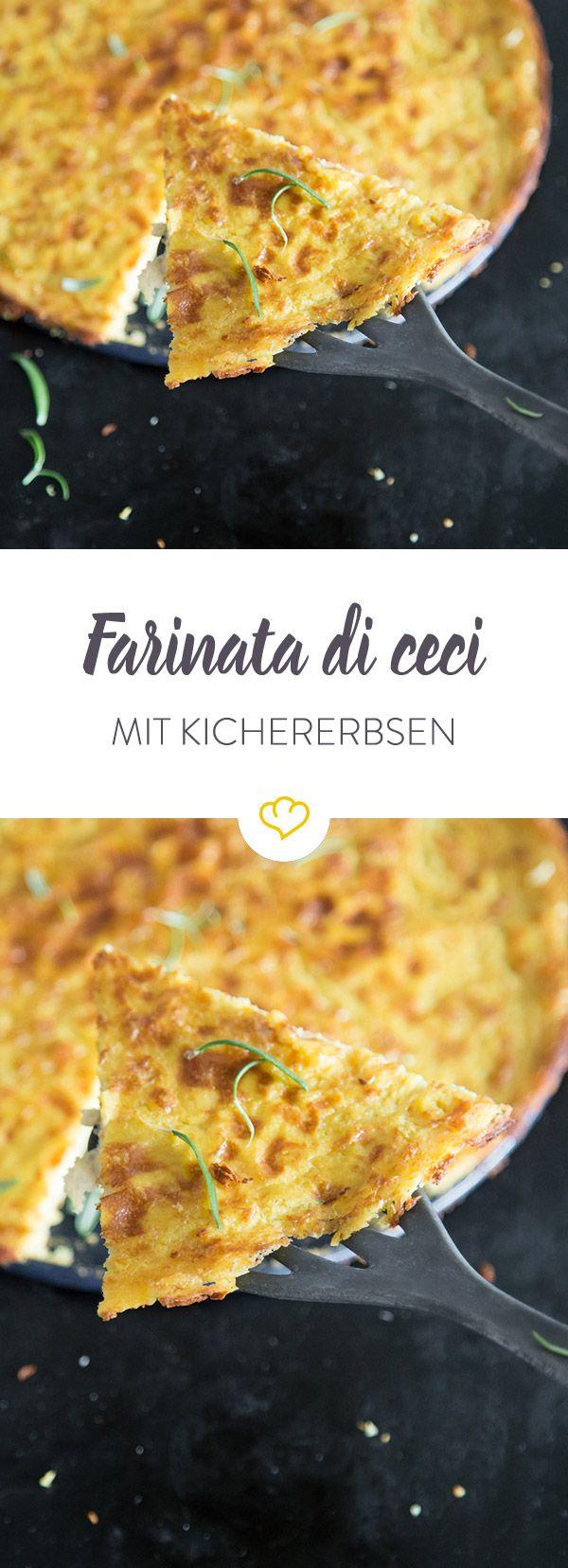 Farinata kommt ursprünglich aus Ligurien und ist ein echtes Super-Streetfood: der Kichererbsenfladen ist lecker, gesund, vegan und glutenfrei! Entdeckt von Vegalife Rocks: www.vegaliferocks.de✨ I Fleischlos glücklich, fit & Gesund✨ I Follow me for more vegan inspiration @vegaliferocks