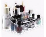 Custom acrylic perspex stands acrylic makeup organizer make up organiser CO-317