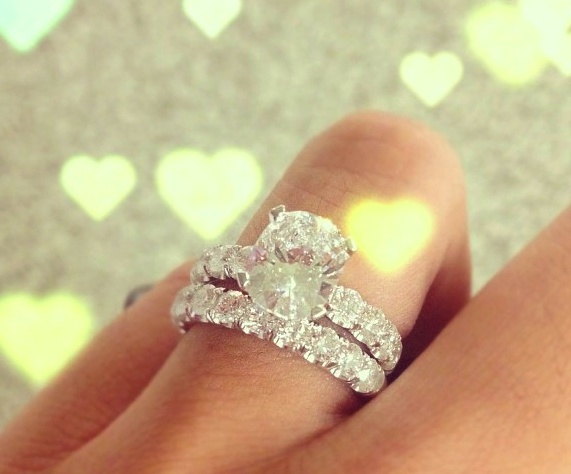 Wedding Rings Pictures engagement ring wedding rings combo