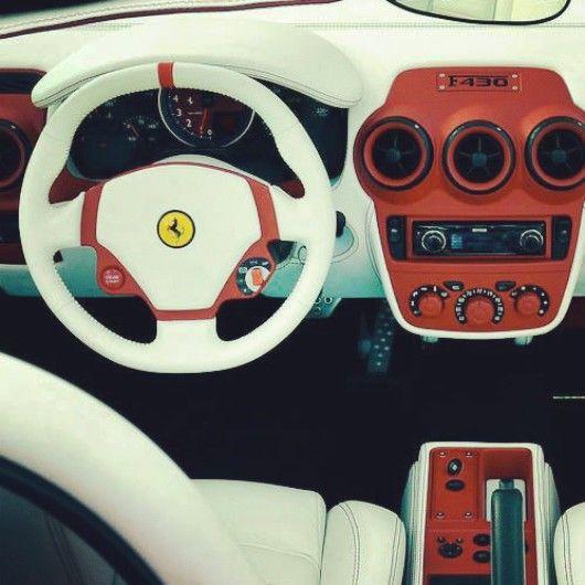 Custom Ferrari Supercar Interior Auto Porn Pinterest