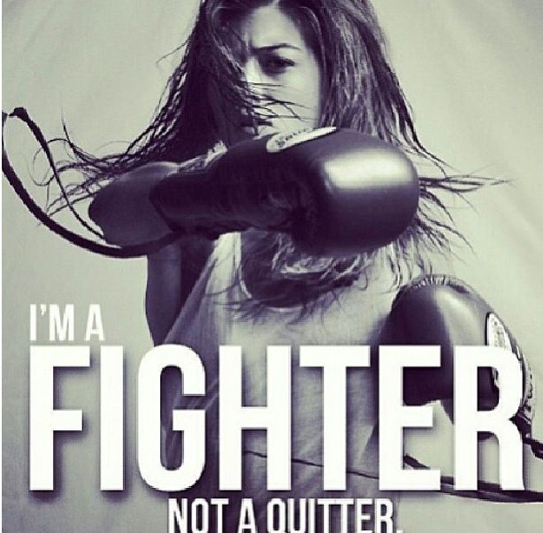 GIRL KICKBOXING QUOTES image quotes at relatably.com