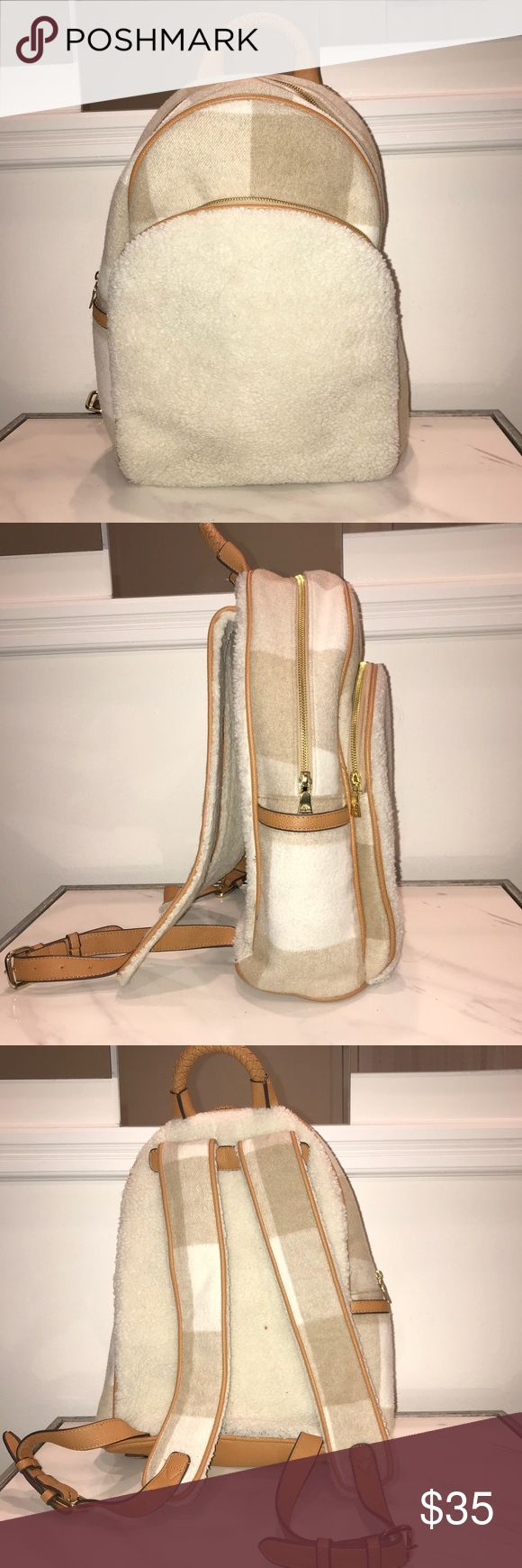 Adam Lippes for target backpack Wool like backpack in excellent condition only held once Adam Lippes For Target Bags Backpacks