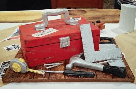 Tool Box Cake Cake by Chocswirl