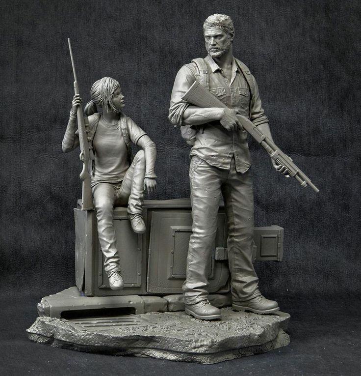 The Last of Us Characters Sculpt joel-statue2