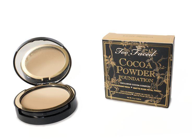Too Faced Cocoa - Powder Foundation - Fond de teint Poudre au Cacao