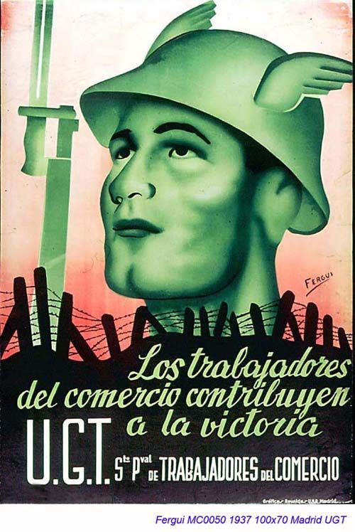 Spain - 1937. - GC - poster - autor: Fergui