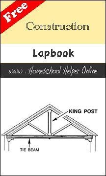 Homeschool Helper Online's Construction Lapbook