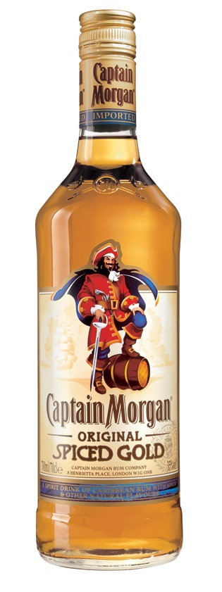 Captain Morgan Spiced Rum. I consider myself an affluent, sophisticated lady but my adult beverage preference is considerably simple.  There's nothing like sailin' with the Captain :)