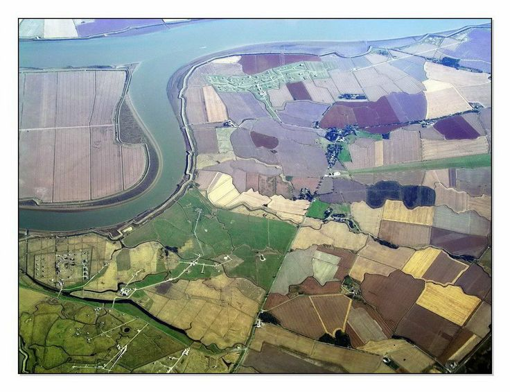 "Foulness Island - Aerial Overview as Art, by AustrianAviationArt at Panoramio.com. See ""The Old Ways"" 1.4 ""Silt"""