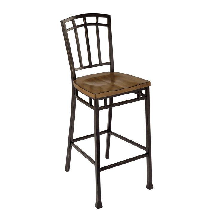 Bring A Classic And Simple Look Home With This Modern Craftsman Bar Stool.  Finished With