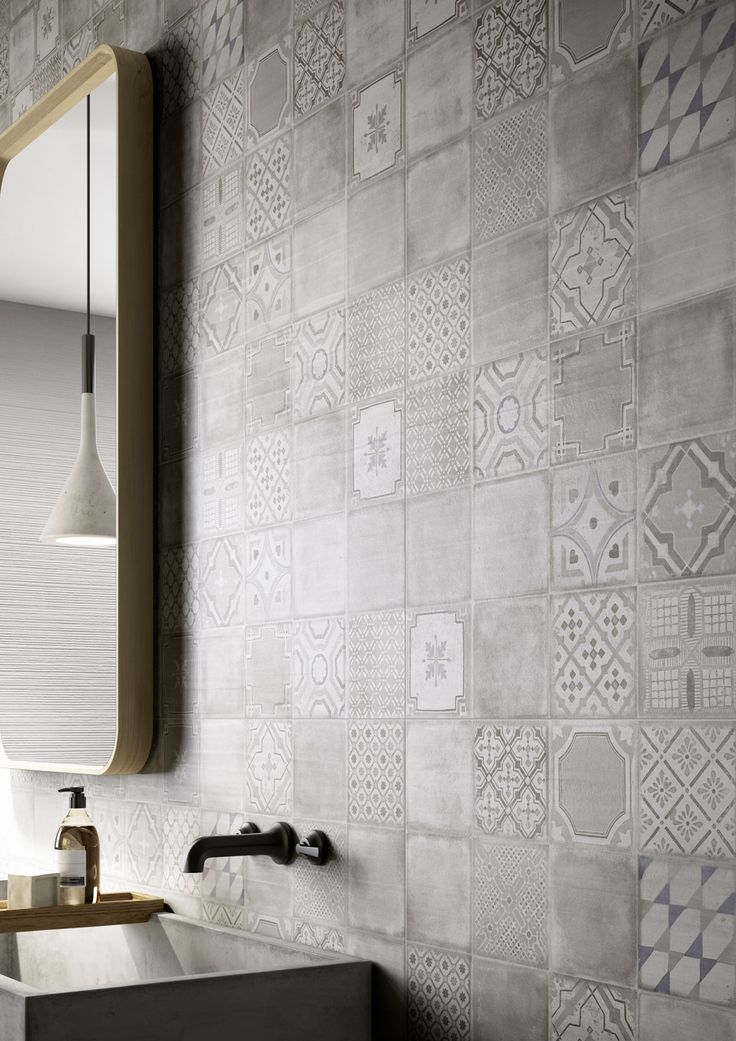 materika satin concrete effect wall tiles marazzi more