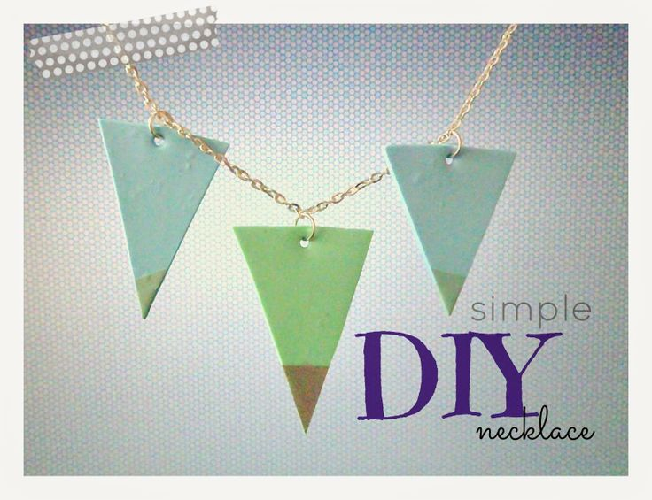 Bebaty: DIY simple necklace