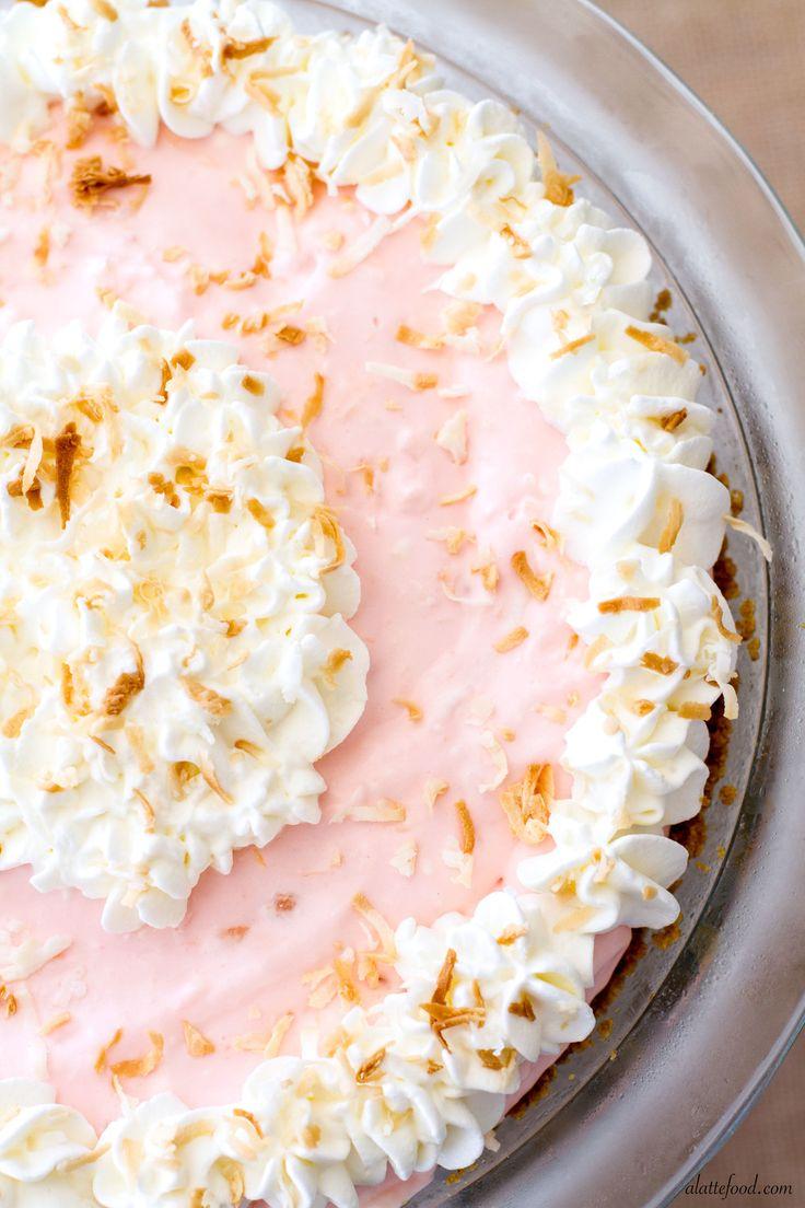 No-Bake Tropical Cream Pie   RecipeLion.com