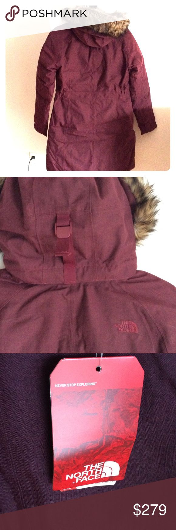 NWNWT North Face Arctic Parka Garnet Red Heather Small North Face Jackets & Coats Puffers