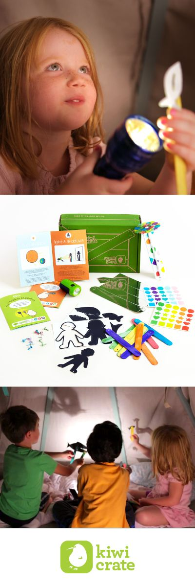 Fun hands-on projects to help spark your kid's imagination and creativity from Kiwi Crate!