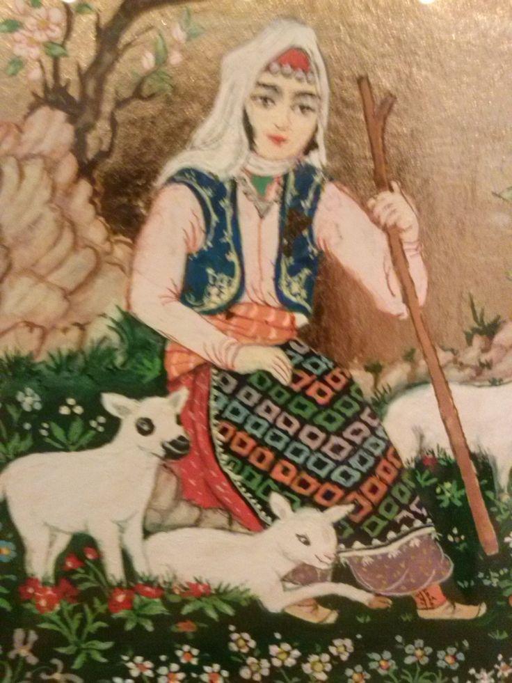 Ömer Faruk Atabek - Çoban Kızı - detay