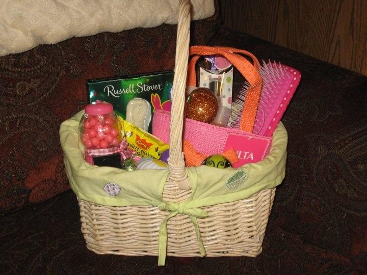 Easter basket for teenage girl gift ideas pinterest