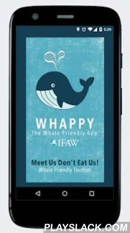 Whappy  Android App - playslack.com , Whappy helps visitors make whale friendly choices and show support for the protection of whales. Responsible whale watching is a humane and profitable alternative to whaling. Tourists who eat whale meat out of curiosity directly contribute to the number of whales being killed. As a visitor to Iceland, YOU can have a positive impact – don't eat whale meat and instead choose whale friendly restaurants (that don't put whale on the menu), book responsible…