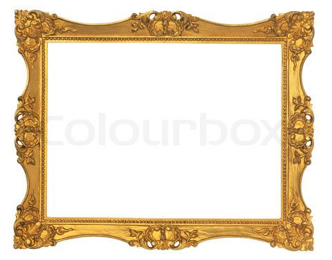 Free Victorian Borders And Frames Stock Image Of Gold Frame Old Doll House Printables Pinterest Picture Photo Booth