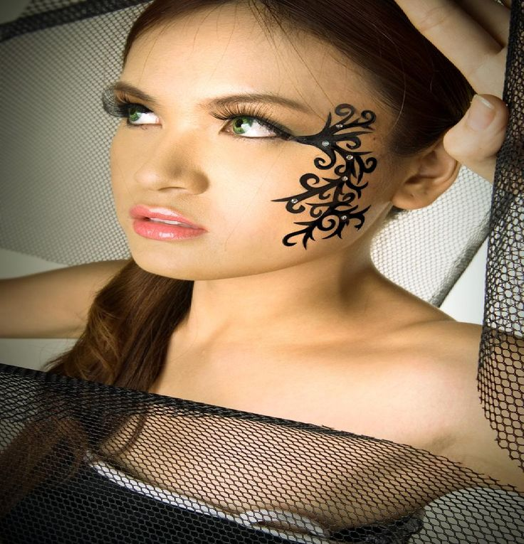 Women Face Tattoo Related Keywords & Suggestions Women