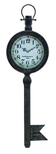 Benzara Metal Wall Clock with Elegant Design Antique Finish ** Details can be found by clicking on the image.