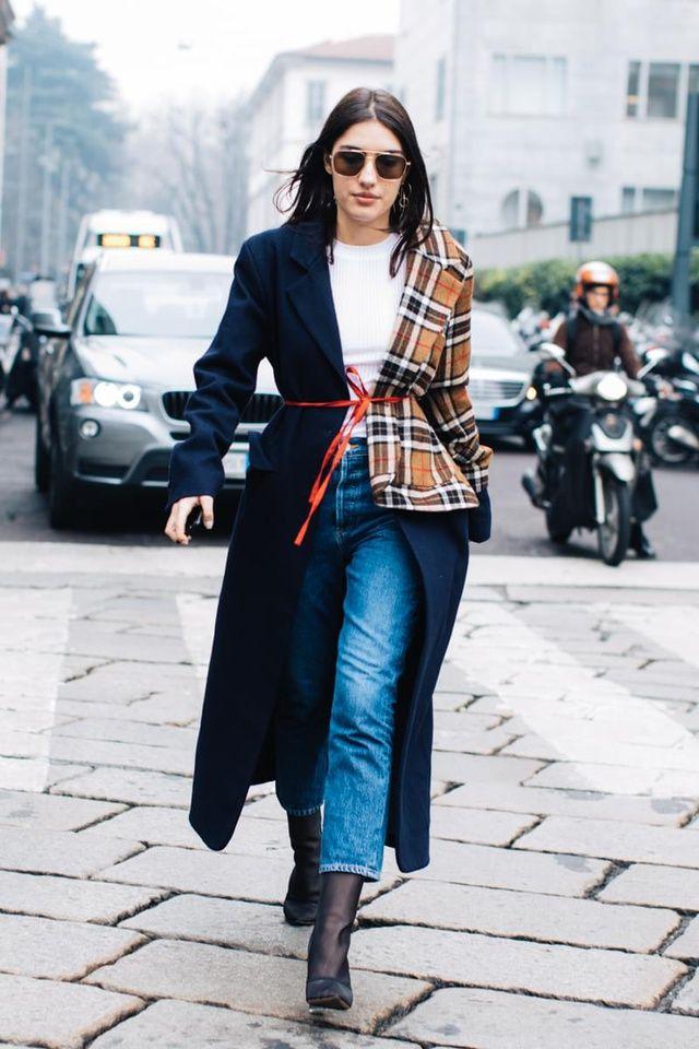 Street style à la Fashion Week automne-hiver 2017-2018 de ...