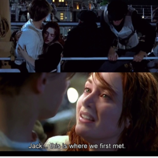Titantic. Rose and Jack