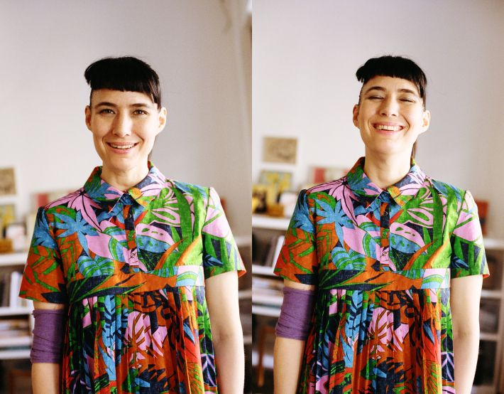 Kathleen Hanna for Opening Ceremony House Calls pt 2 Portraits in New York City