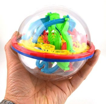Arpa 100 Steps Small Big Size 3D Labyrinth Magic Rolling Globe Ball Marble Puzzle Cubes Brain Teaser Game Sphere Maze