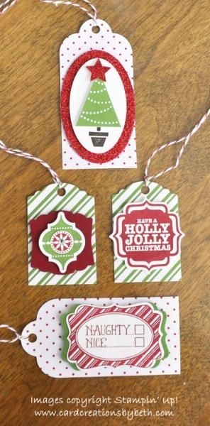 Christmas Tags by mcalexab - Cards and Paper Crafts at Splitcoaststampers