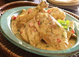 Guatemalan Chicken in Coconut Milk